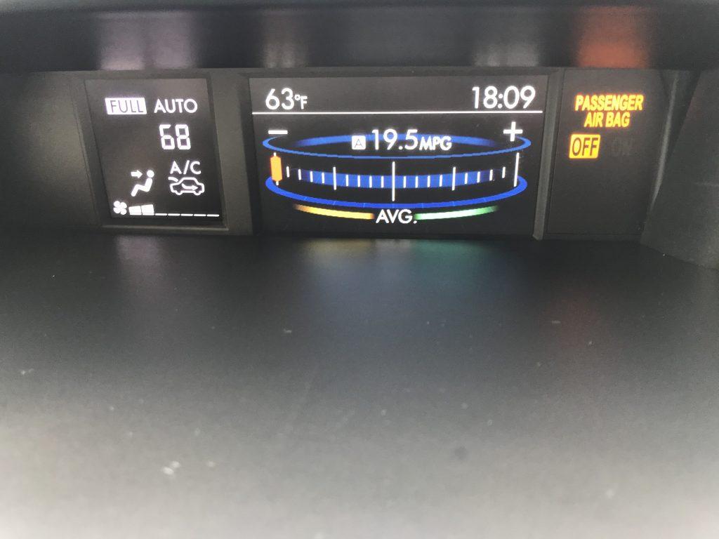 Autoprofix. Subaru Forester. Монитор центральной консоли.