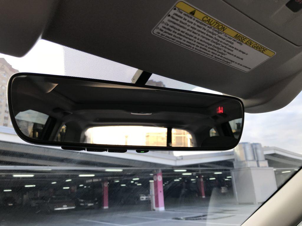 Autoprofix. Subaru Forester. Основное многофункциональное зеркало заднего вида.