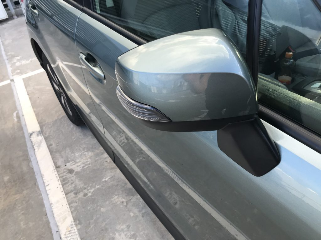 Autoprofix. Subaru Forester. Правое зеркало заднего вида. Вид спереди.