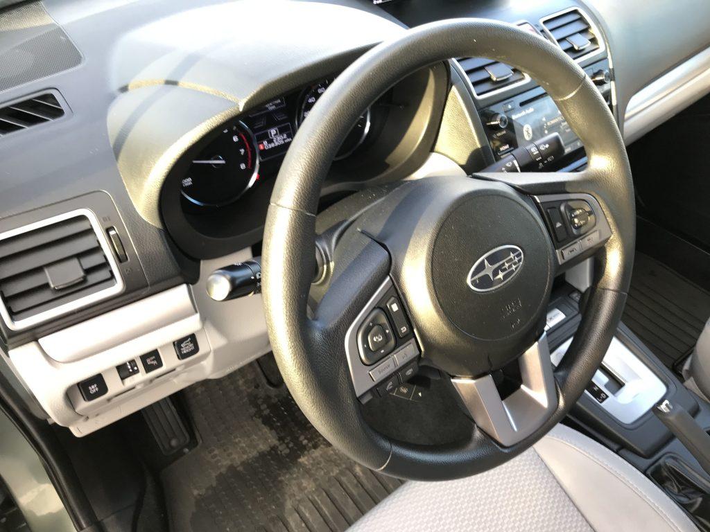 Autoprofix. Subaru Forester. Руль.