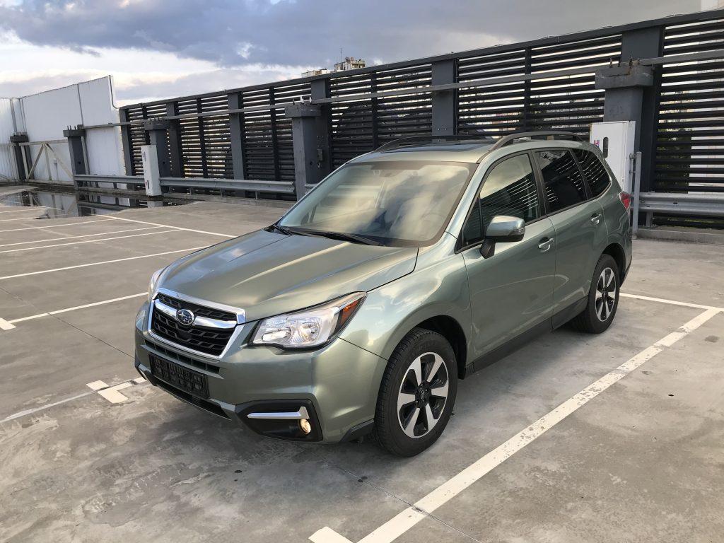 Autoprofix. Subaru Forester. Вид спереди подиагонали слева