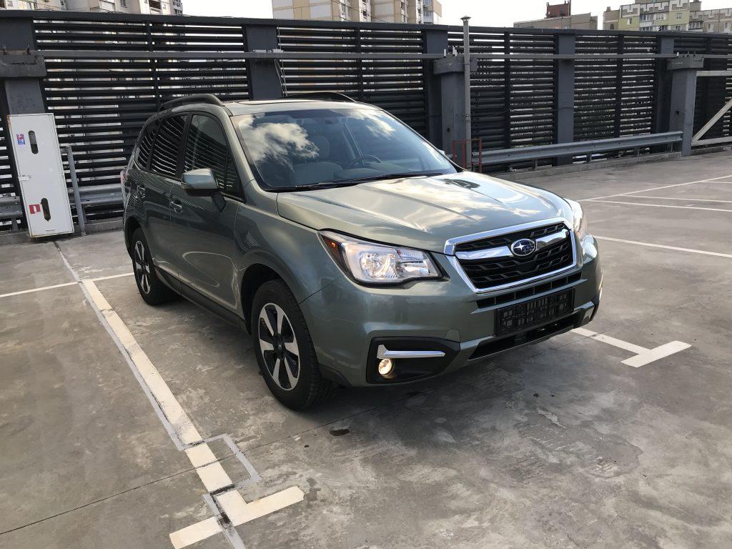 Autoprofix. Subaru Forester. Вид спереди подиагонали справа