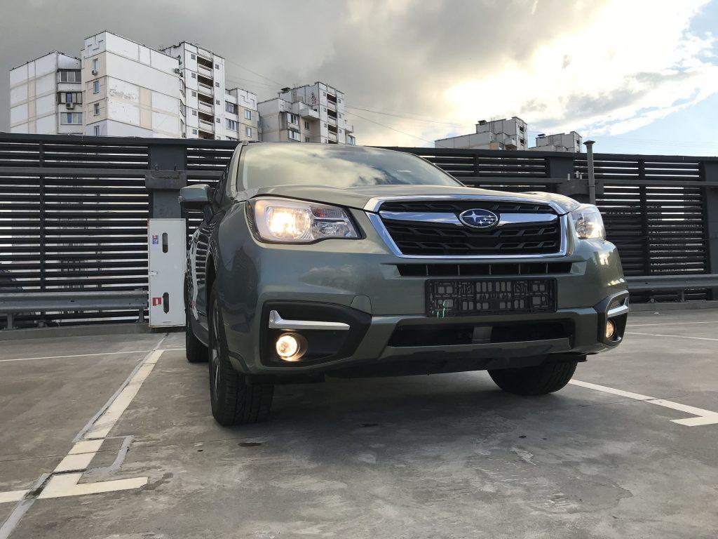 Autoprofix. Subaru Forester. Вид спереди снизу.