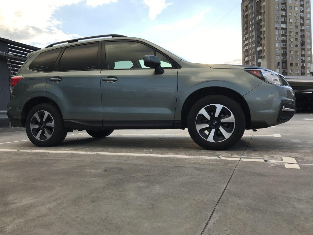 Autoprofix. Subaru Forester. Вид справа снизу.