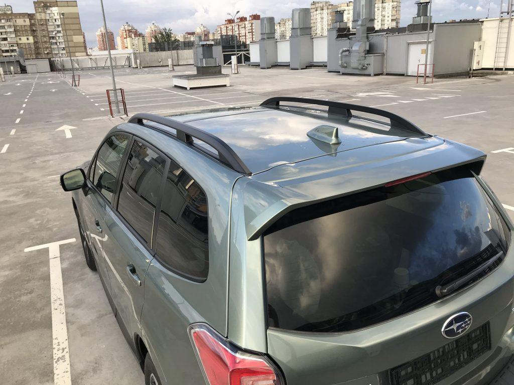 Autoprofix. Subaru Forester. Вид сзади подиагонали слева на крышу.