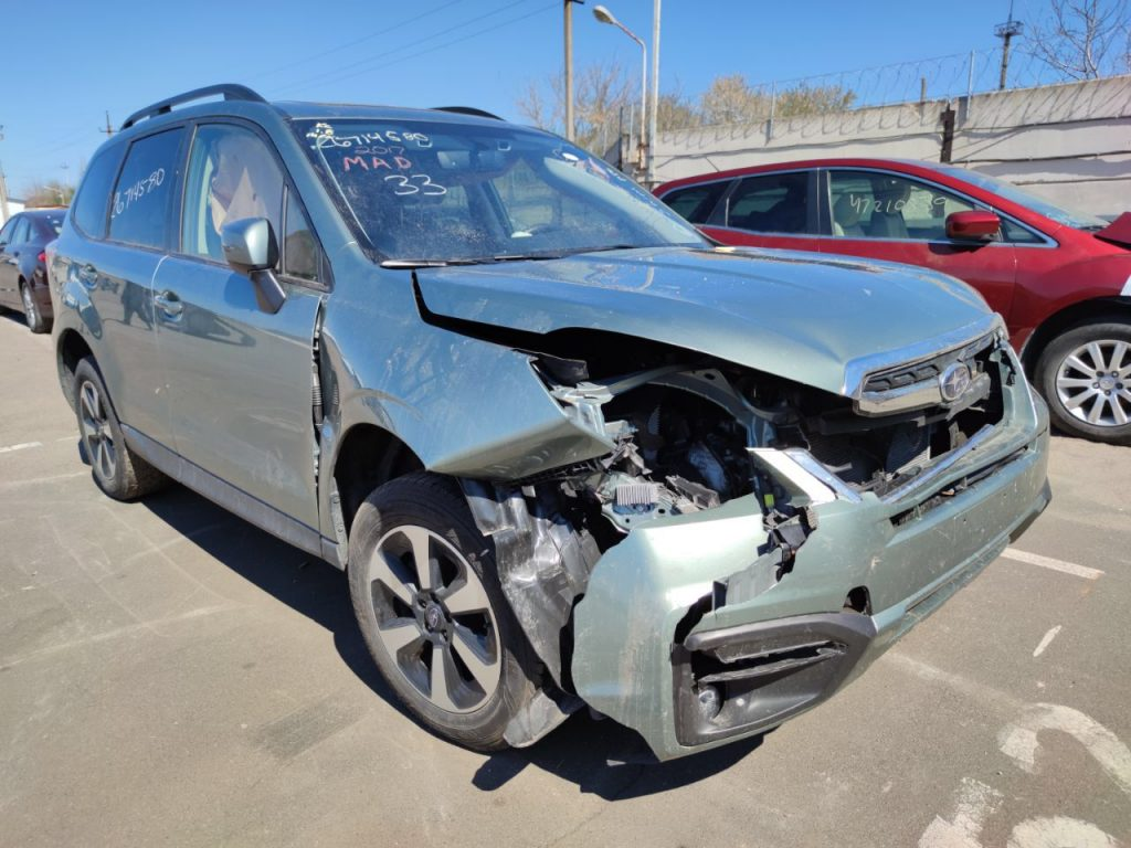 Autoprofix. Subaru Forester 2018.  После ДТП.
