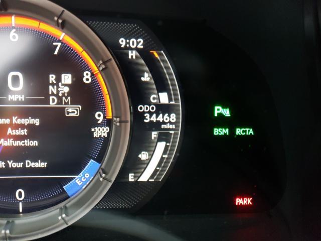 Autoprofix Lexus LC 500 вид спереди слева спидометр